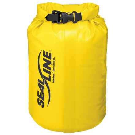 SealLine Nimbus Dry Sack - 5L, Waterproof in Yellow - Closeouts