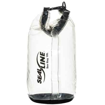 SealLine See Dry Bag - 10L in Smoke Tint - Closeouts