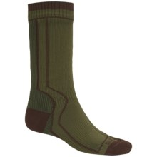SealSkinz Heavyweight Trekking Socks - Waterproof (For Men and Women) in Green - Closeouts