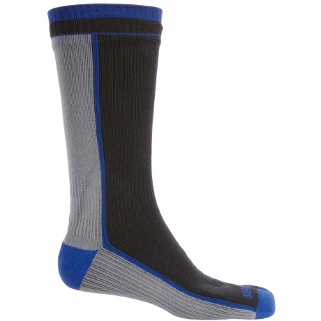 SealSkinz Midweight Waterproof Socks - Merino Wool Lined, Mid Calf (For Men and Women)