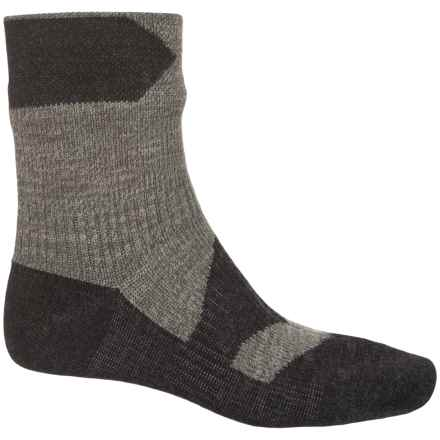Sealskinz Walking Thin Merino Wool Socks - Waterproof, Ankle (For Men) in Olive Marl/Charcoal - Closeouts