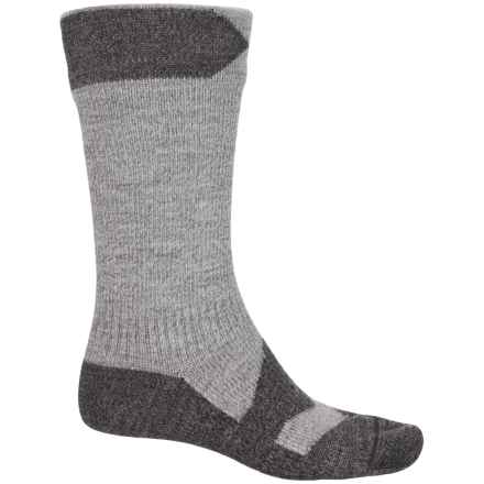 Sealskinz Walking Thin Mid Socks - Waterproof, Crew (For Men) in Grey Marl/Dark Grey Marl - Closeouts