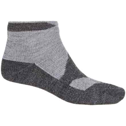 Sealskinz Walking Thin Socklet Socks - Ankle (For Men) in Grey Marl/Dark Grey - Closeouts