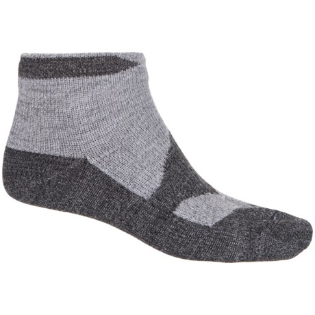 Sealskinz Walking Thin Socklet Socks - Ankle (For Men) in Grey Marl/Dark Grey