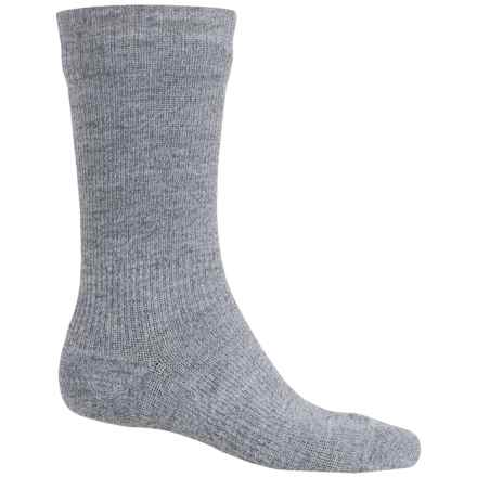 Sealskinz Waterproof Hiking Socks - Crew (For Men and Women) in Grey - Closeouts