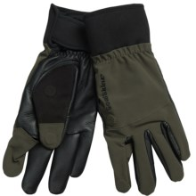 SealsSkinz Shooting Gloves (For Men and Women) in Olive - Closeouts