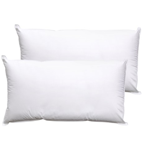 Sealy Allergen Barrier Bed Pillows - King, 2-Pack in White
