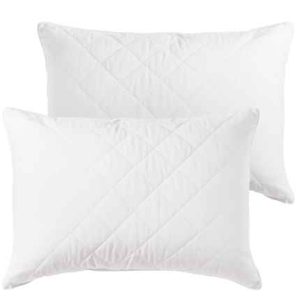 SEALY POSTURE PEDIC Posturepedic® Quilted Gel Fiber Bed Pillows - Jumbo, 2-Pack in White - Closeouts