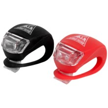 Seattle Sport Bike Light Blazers - 2-Pack in Black W/White Led/Red W/Red Led - Closeouts