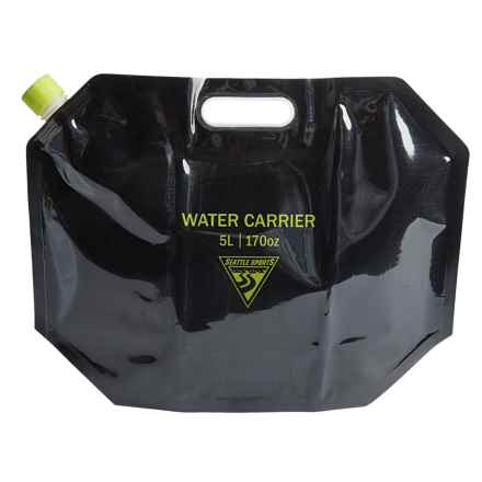 Seattle Sports AquaSto Water Carrier - 5 Liters in Black - Overstock