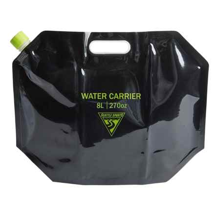 Seattle Sports AquaSto Water Carrier - 8L in Black - Overstock