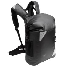 Seattle Sports Central 17L Waterproof Backpack in Black - Closeouts