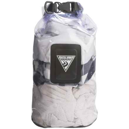 Seattle Sports EcoOpti Clear Waterproof Dry Bag - 10L in Clear - Closeouts