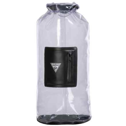 Seattle Sports EcoOpti Waterproof Dry Bag - 30L in Clear - Closeouts