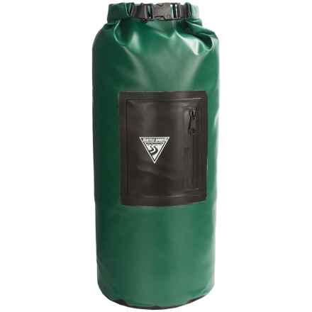 Seattle Sports Explorer Waterproof Dry Bag - 20L in Green - Closeouts