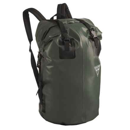 Seattle Sports H2O Gear Waterproof Backpack - Medium in Olive - Closeouts