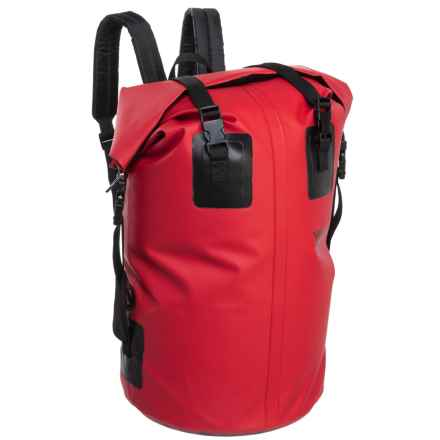 Seattle Sports H2O Gear Waterproof Backpack - Medium in Red - Closeouts