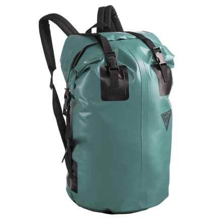 Seattle Sports H2O Gear Waterproof Backpack - Medium in Spruce Green - Closeouts
