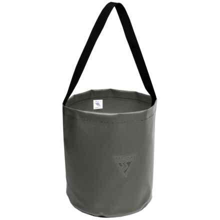 Seattle Sports Heavy-Duty Camp Bucket in Spruce Green - Closeouts