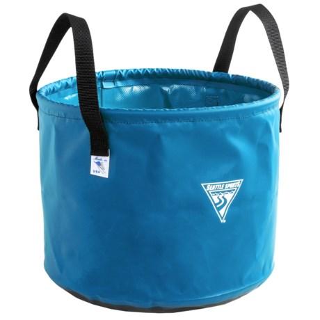 Seattle Sports Jumbo Camp Sink - 6-Gallon in Light Blue