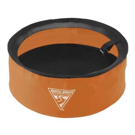 Seattle Sports Pocket Bowl in Orange