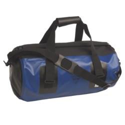 Seattle Sports Roll Top Waterproof Duffel Bag - Large in Blue