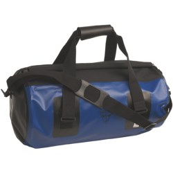 Seattle Sports Roll Top Waterproof Duffel Bag - Large in Blue