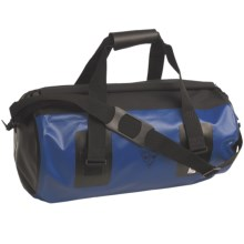 Seattle Sports Roll-Top Waterproof Duffel Bag - Medium in Blue - Closeouts