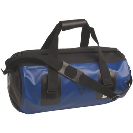 Seattle Sports Roll-Top Waterproof Duffel Bag - Medium in Blue