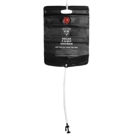 Seattle Sports Solar Camp Shower - 5-Gallon in Black