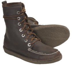 SeaVees 02/60 7-Eye Trail Boots (For Men) in Walnut Oiled Leather