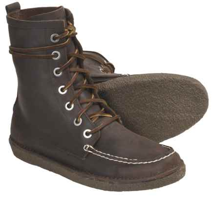 SeaVees 02/60 7-Eye Trail Boots - Leather (For Men) in Walnut Oiled Leather - Closeouts