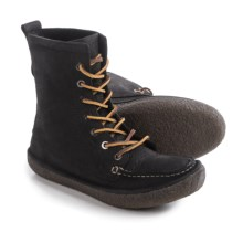 SeaVees 02/60 7-Eye Trail Boots - Leather (For Women) in Black Iron - Closeouts