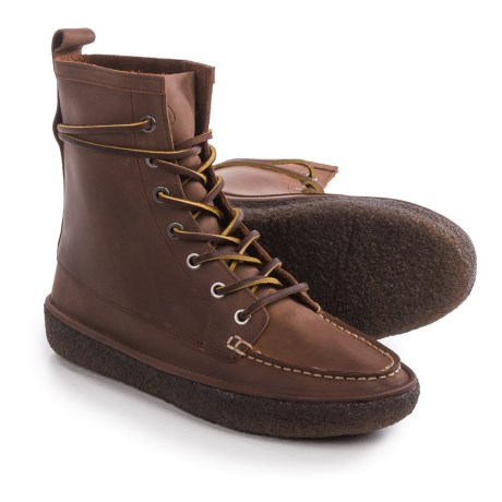 SeaVees 02/60 7-Eye Trail Boots - Leather (For Women) in Walnut