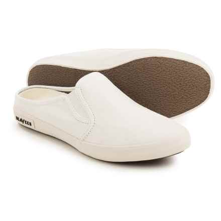 SeaVees 02/64 Baja Mule Shoes (For Women) in White - Closeouts