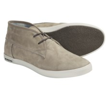 SeaVees 04/60 2 Eye Floater Ankle Boots - Nubuck (For Men) in Dune Tumbled Nubuck - Closeouts