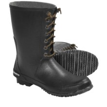 SeaVees 04/65 Off Shore Rubber Boots - Waterproof (For Men) in Dark Shadow - Closeouts
