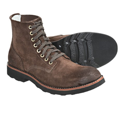 SeaVees 05/63 Boondocker Boots - Leather (For Men) in Dark Earth Roughout Leather