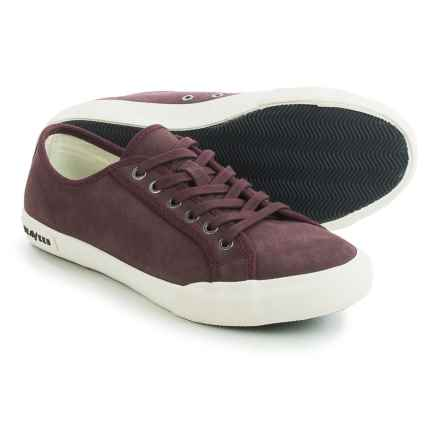 SeaVees 06/67 Monterey Sneakers - Suede (For Women) in Deep Cherry - Closeouts