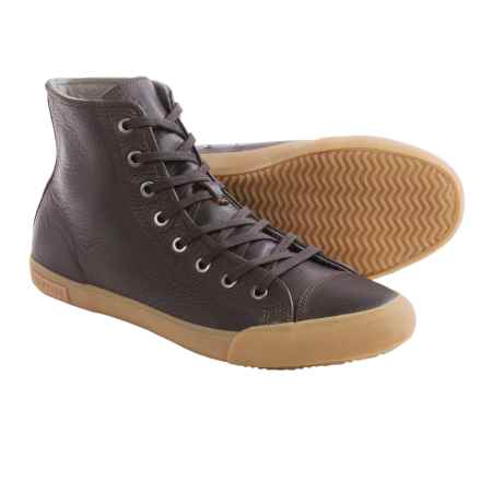 SeaVees 08/61 Army Issue High Dharma Sneakers - Leather (For Men) in Espresso - Closeouts
