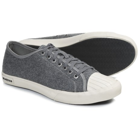 SeaVees 08/61 Army Issue Low Sneakers (For Men) in Charcoal Flannel