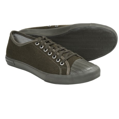 SeaVees 08/61 Army Issue Low Sneakers (For Men) in Military Olive Flannel