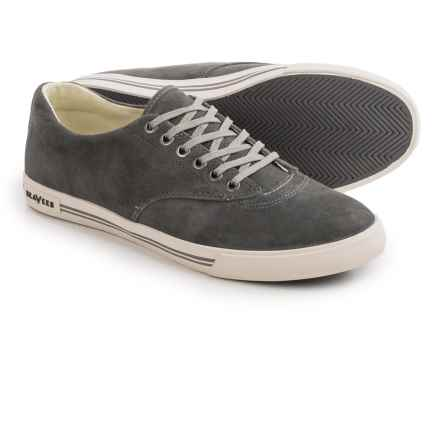 Seavees 08/63 Hermosa Plimsoll Riv Sneakers - Suede (For Men) in Dusk Blue - Closeouts