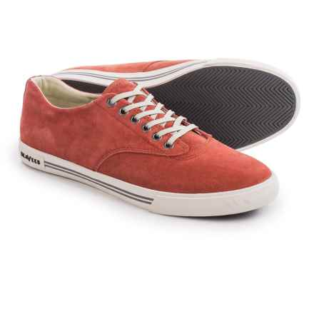 Seavees 08/63 Hermosa Plimsoll Riv Sneakers - Suede (For Men) in Picante - Closeouts
