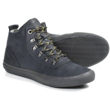 SeaVees 09/64 Hiker Shoes (For Men) in Slate Navy Leather - Closeouts