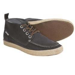 SeaVees 09/65 Bayside Moccasin Chukka Boots (For Men) in Carbon Suede