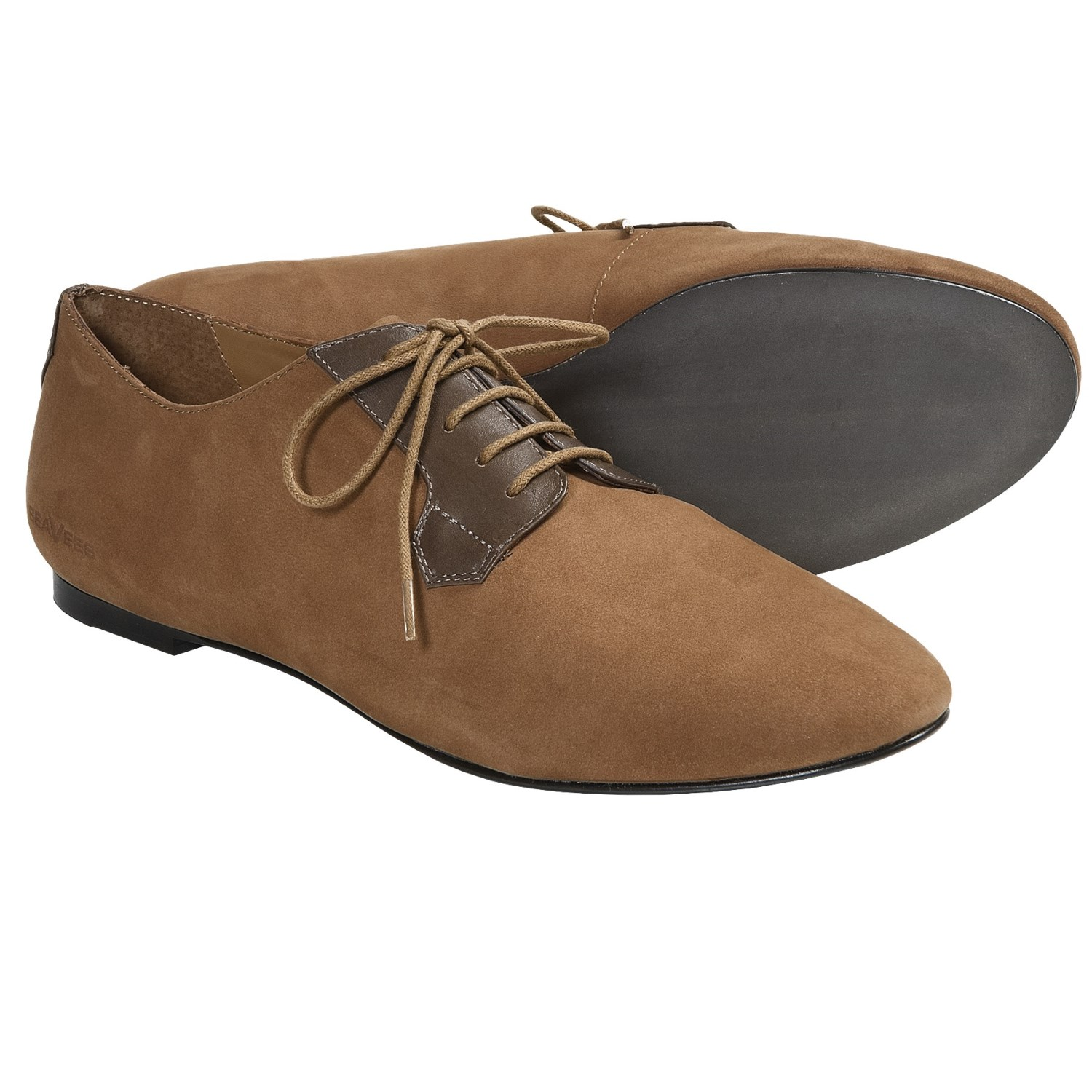 SeaVees 10/60 Buck Shoes - Nubuck-Leather, Lace-Ups (For Women) in