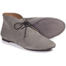 SeaVees 12/67 Chukka Boots - Scratch Leather (For Women) in Pewter Scratch Leather - Closeouts