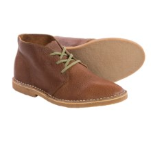 Seavees 12/67 Leather Chukka Boots (For Men) in Brass Waxed Leather - Closeouts