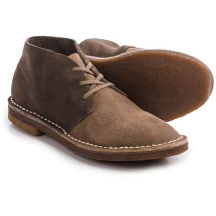 Seavees 12/67 Leather Chukka Boots (For Men) in Sage Suede - Closeouts